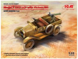 ICM 1/35 Model T 1917 LCP w/ Vickers MG, WWI ANZAC Car