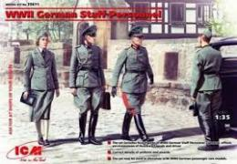 ICM 1/35 WWII German Staff Personnel