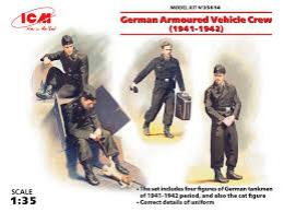 ICM 1/35 German Armoured Vehicle crew 1941-42