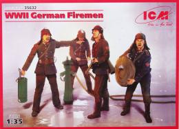 ICM 1/35 WWII German Fireman 4Fig.