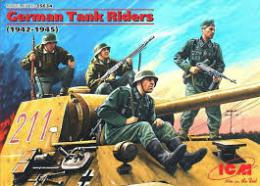 ICM 1/35 German Tank Riders 42-45