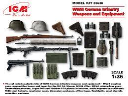 ICM 1/35 WWII German Infantry Weapons & Equipment