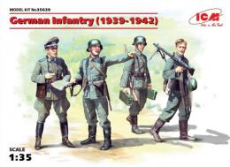 ICM 1/35  German Infantry (1939-1941) 4 fig.