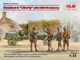 ICM 1/35  Liberty with Infantry