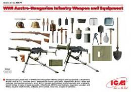 ICM 1/35 WWI Austro-Hung. Weapons