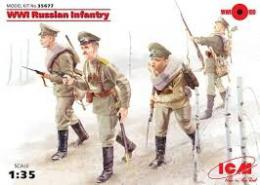 ICM 1/35 WWI Russian Infantry