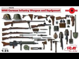 ICM 1/35 WWI German Infantry Weapon&Equip
