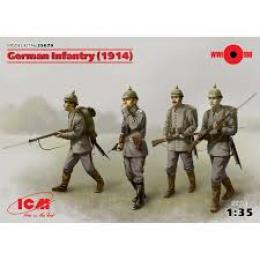 ICM 1/35 German Infantry 1914