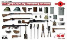 ICM 1/35 WWI French Infantry Weapon
