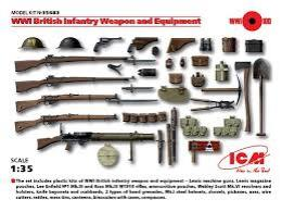 ICM 1/35 WWI British Weapons & Eq.