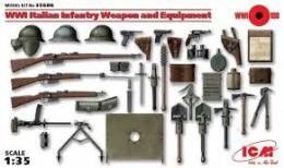 ICM 1/35 WWI Italian Infantry And Equipment