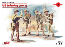 ICM 1/35 Us Infantry 1917 ( 4 Figures )