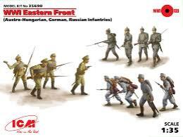 ICM 1/35 WWI Eastern Front infanteries