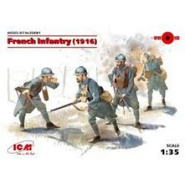 ICM 1/35 French Infantry (1916) 4 figures