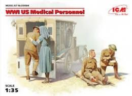 ICM 1/35 WWI US Medical Personnel