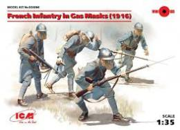 ICM 1/35 French Infantry in Gas Masks