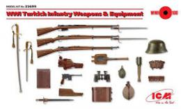 ICM 1/35 WWI Turkisch Weapons