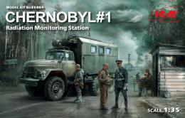 ICM 1/35 Chernobyl No.1 (ZiL-131 KShM + 5 fig.+ Diorama base)