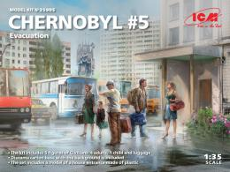 ICM 1/35 Chernobyl No.5 - Extraction 5 fig.+ luggage