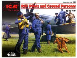 ICM 1/48  RAF pilots and Personnel