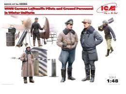 ICM 1/48 WWII German Pilots&Personell