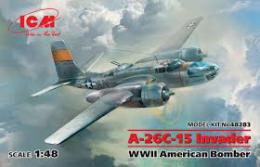 ICM 1/48 A-26C-15 Invader American WWII Bomber