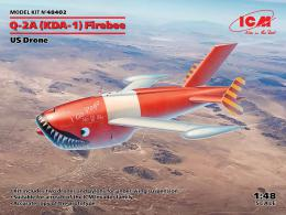 ICM 1/48  Q-2A (KDA-1) Firebee, US Drone (2 airplanes and pilons)