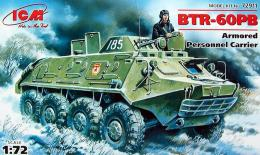 ICM 1/72 Btr-60Pb Armored Car.1/72 72