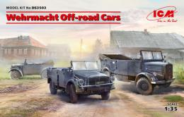 ICM1/35 Wermaht Off-road cars Set