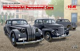 ICM 1/35 Wehrmacht Personnel Cars DIORAMA SET (3 kits)