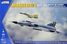 KINETIC 1/48 South American Mirage III/IV