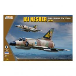 1/48 IAI Nesher Single/Double Seat Combo 2 in 1