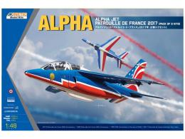 KINETIC 1/48 Alpha Jet Patrouille de 2017 -1 kit
