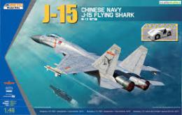KINETIC 1/48 J-15 Chinese Naval Fighter