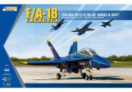 KINETIC 1/48 USN Blue Angels 2017 F/A-18A/B/C/D Hornet