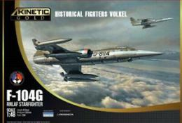KINETIC 1/48 F-104G RNLAF Starfighter Historical Fighters VolkeL
