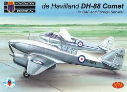 KOVOZÁVODY 1/72 DH-88 Comet in RAF and Foreign Service