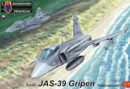 KOVOZÁVODY 1/72 JAS-39 Gripen International ex-ITALERI