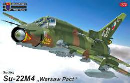 KOVOZÁVODY 1/72 Su-22M4 Fitter Warsaw Pact
