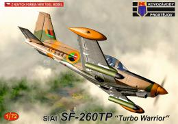 KOVOZÁVODY 1/72 SIAI SF-260TP Turbo Warrior