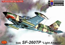 KOVOZÁVODY 1/72 SIAI SF-260TP Light Attacker
