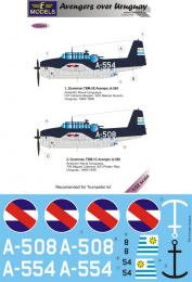 LF MODEL 1/32 Decals Grumman TBF Avenger over Uruguay Pt.1