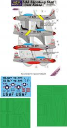 LF MODEL 1/32 Decal&mask T-33 Shooting Star over Korea