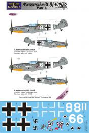 LF MODEL 1/32 Decals Messerschmitt Bf 109G-6 Comiso Pt.2