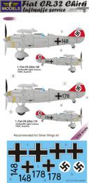 LF MODEL 1/32 Decals Fiat CR.32 Chirri Luftwaffe Service