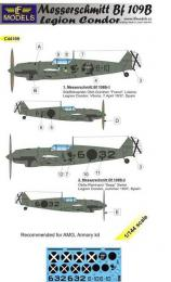 LF MODELS 1/144 Decals Bf 109B Legion Condor for AMG/ARMORY