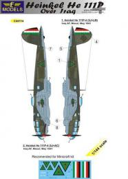 LF MODELS 1/144 Decals Heinkel He 111P over Iraq for MINI