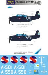 LF MODEL 1/48 Decals Grumman TBF Avenger over Uruguay Pt.2