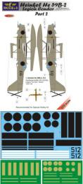 LF MODEL 1/72 Decals He 59B-2 Legion Condor&masks - part 2