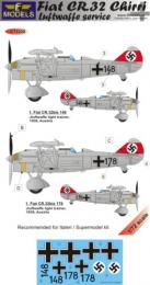LF MODEL 1/72 Decals Fiat CR.32 Chirri Luftwaffe Service